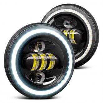 Lumen® - Round Sealed Beam Halo Headlights