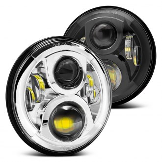 "Lumen® - 7"" Round Full LED Projector Headlights"