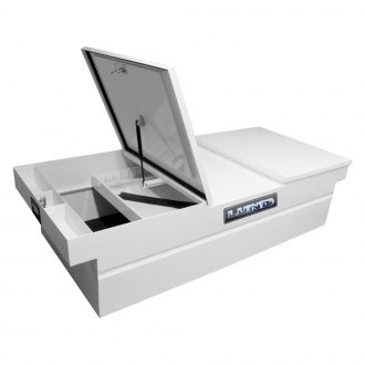 Lund® - Commercial PRO HD Standard Dual Lid Gull Wing Crossover Tool Box
