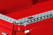 Lund® - Brite Bed Rail Cap with Stake Holes