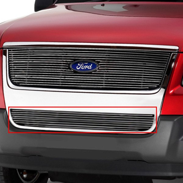 Lund® - Polished Billet Bumper Grille Image may not reflect your exact vehicle!