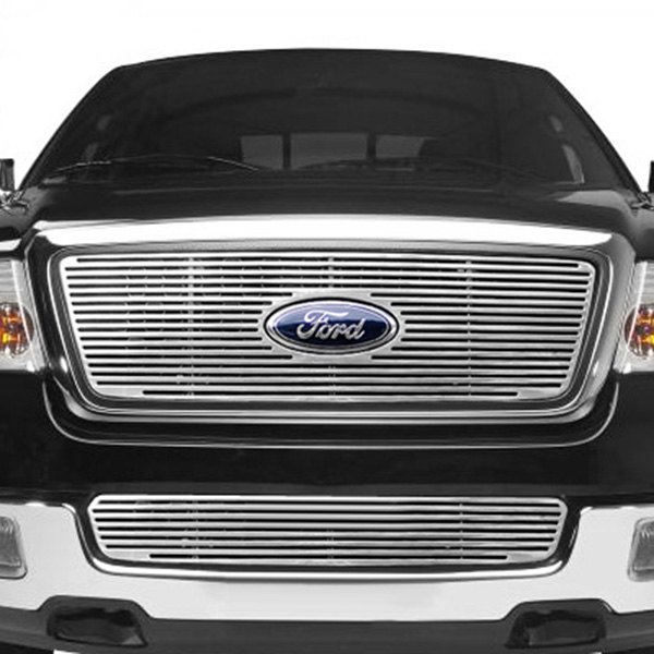 Lund® - Polished Framed Perimeter Grille Image may not reflect your exact vehicle!