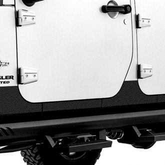 Lund® - Rhino Linings™ Black Small Rocker Guards