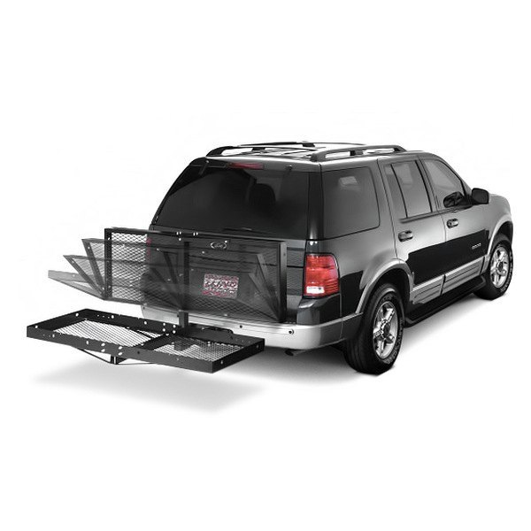 Lund® - Folding Hitch Mounted Cargo Carrier