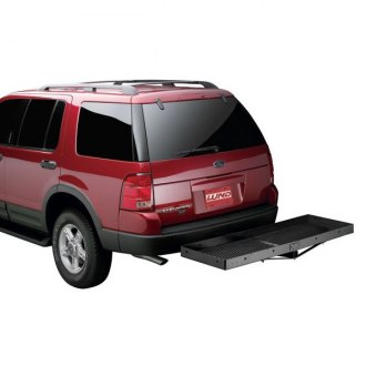 Lund® - Stationary Hitch Mounted Cargo Carrier