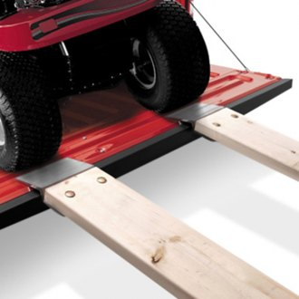 "Lund® - Extruded Ramp End Kit for 2"" x 8"" to 2"" x 10"" planks"