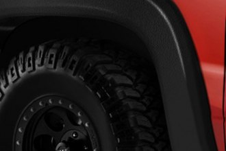 Lund® - EX-ExtraWide Style Black Fender Flares