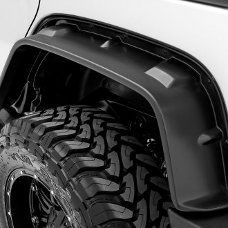 Lund® - FX-Jeep Flat Style Front and Rear Fender Flares