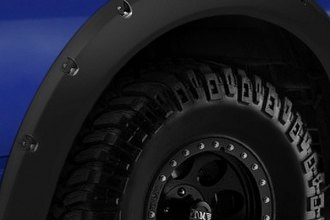 Lund® RX103TB - RX-Rivet Style Textured Fender Flares