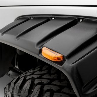 Lund® - Elite Series RX-Jeep Rivet Style Front and Rear Fender Flares