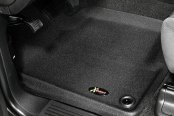 Image may not reflect your exact vehicle! Lund® - Catch-All Xtreme™ 1st Row Black Floor Liners