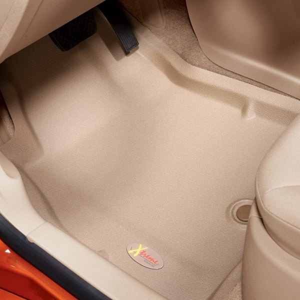 Image may not reflect your exact vehicle! Lund® - Catch-All Xtreme™ 1st Row Tan Floor Liners