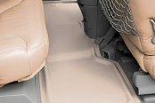 Image may not reflect your exact vehicle! Lund® - Catch-All Xtreme™ 2nd Row Tan Floor Liners