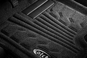Image may not reflect your exact vehicle! Lund® - Catch-It™ Carpet 1st Row Black Floor Liners