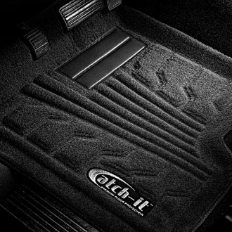 Lund® - Catch-It™ Carpet 1st Row Black Floor Liners