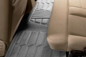 Image may not reflect your exact vehicle! Lund® - Catch-It™ Carpet 2nd Row Gray Floor Liners