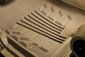 Lund® - Catch-It™ 1st Row Vinyl Tan Floor Mats