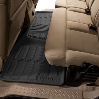 Lund® - Catch-It™ Vinyl 2nd Row Black Floor Liners