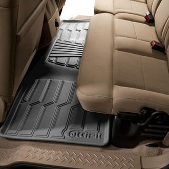 Lund® - Catch-It™ Vinyl 2nd Row Gray Floor Liners