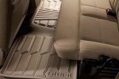 Image may not reflect your exact vehicle! Lund® - Catch-It™ Vinyl 2nd Row Tan Floor Liners