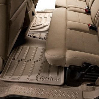Lund® - Catch-It™ Vinyl 2nd Row Tan Floor Liners