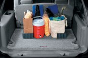Image may not reflect your exact vehicle! Lund® - Cargo-Logic™ Cargo Mat in Usage