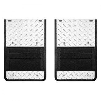 Lund® - 930 Series Molded Rubber Mud Flaps with Diamond Plate
