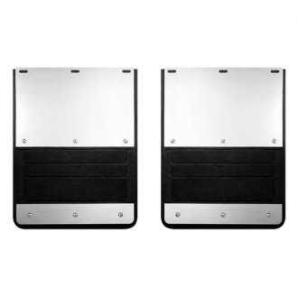 Lund® - 935 Series Rear Dually Molded Rubber Mud Flaps
