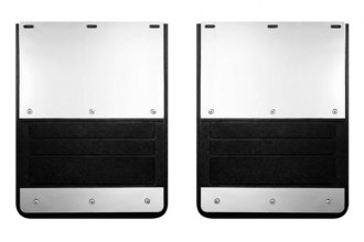 Lund® EX-935F-99 - 935 Series Rear Dually Molded Rubber Mud Flaps