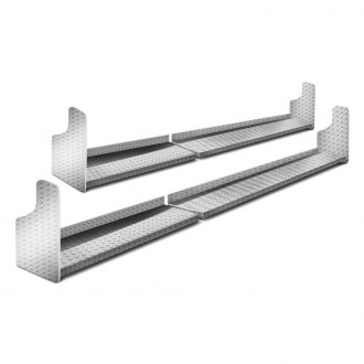 Lund® - Challenger Diamond Plate Running Boards