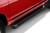 Lund® - TrailRunner™ Black Running Boards Installed