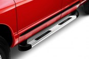 Lund® - TrailRunner™ Brite Running Boards Installed