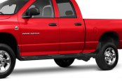Image may not reflect your exact vehicle! Lund® - Trailback Black Running Boards