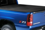 Lund® - Genesis Elite Hinged Tonneau Cover, Closed