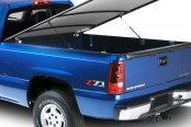 Lund® - Genesis Elite Hinged Tonneau Cover, Open