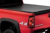 Image may not reflect your exact vehicle! Lund® - Genesis Elite Roll Up Tonneau Cover, Closed