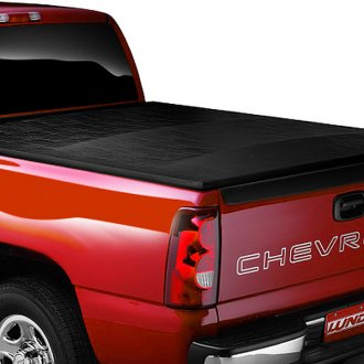 Lund® - Genesis Elite Seal and Peel Tonneau Cover, Closed