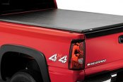 Image may not reflect your exact vehicle! Lund® - Genesis Roll Up Tonneau Cover