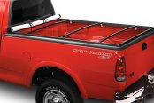 Image may not reflect your exact vehicle! Lund® - Genesis Snap Soft Tonneau Cover, Open
