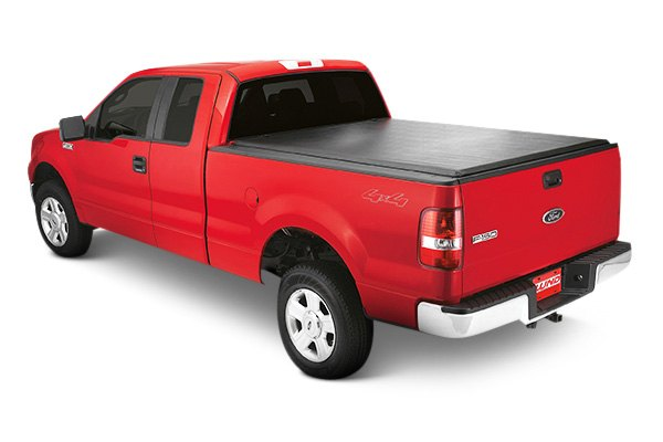 Lund® - Genesis Roll Up Tonneau Cover, Closed
