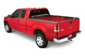 Lund® - Genesis Roll Up Tonneau Cover, Opened