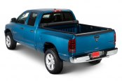 Lund® - Revelation Tonneau Cover, Opened