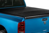 Image may not reflect your exact vehicle! Lund® - Revelation Roll-Up Tonneau Cover, Closed
