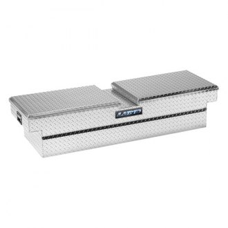 Lund® - ECL Series Standard Wide Dual Lid Gull Wing Crossover Tool Box