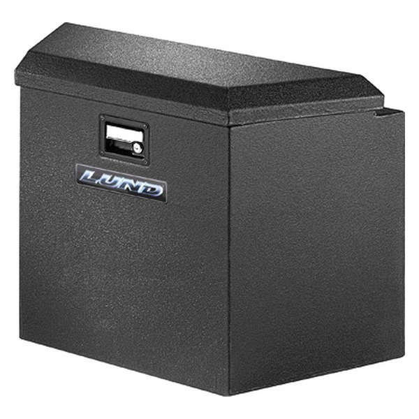 Lund®   Armor X™ Coating Black Trailer Tongue Storage Box With Steel Lid