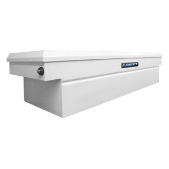 Lund® - Commercial PRO Standard Single Lid Push Button Crossover Tool Box