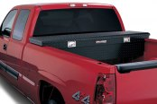 Lund® - Challenger™ Single Lid Crossover Black Tool Box, Low Profile
