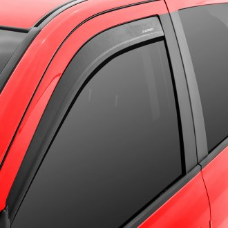 Lund® - Tape-On Low Profile Textured Black Window Deflectors
