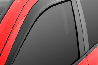 Lund® - Low Profile Textured Black Front and Rear Window Deflectors