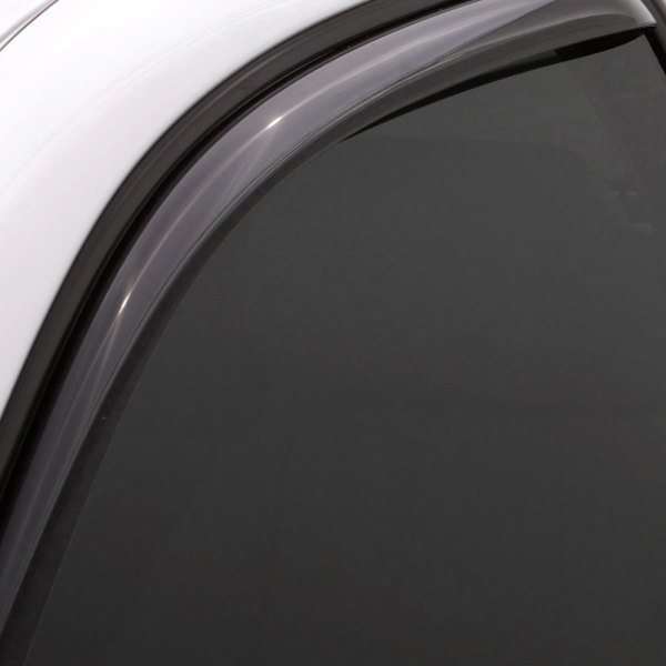 Image may not reflect your exact vehicle! Lund® - In-Channel Ventvisor™ Elite Light Smoke Window Deflectors